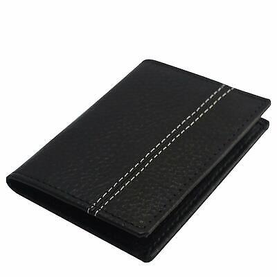 Men's Luxury Ultra Slim High Quality Real Leather Business Id/credit Card Holder