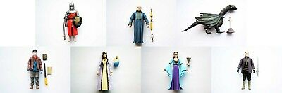 "BBC TV SERIES ADVENTURES OF MERLIN 3.75"" ACTION FIGURE Choice of 7 loose figures"