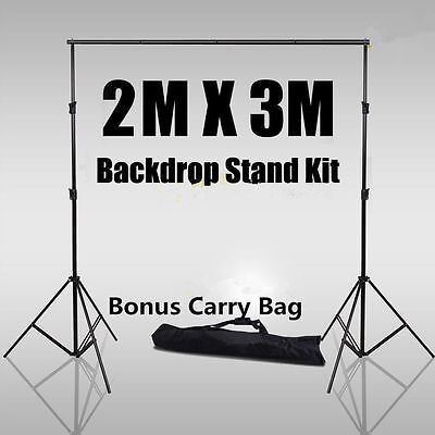 Photo Studio Video Photography Backdrop Background Support Stand For Softbox Kit