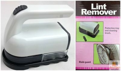 PORTABLE LINT REMOVER Electric Shaver Clothes Roller Fluff Pilling Cleaner