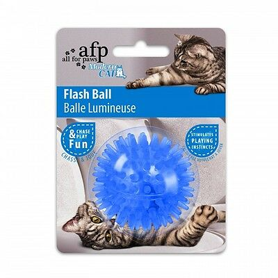 All For Paws Cat Toy Flashing Cat Ball Various Colours