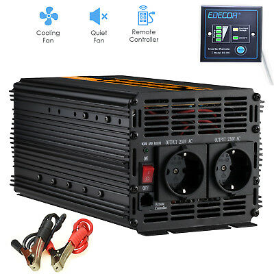 Convertisseur 2000W 4000 watt 24V DC à AC 220V Onduleur Power Inverter Car RV