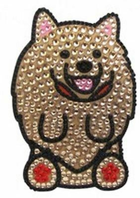 Pomeranian Bling Sticker for Cell Phone, Laptop NEW! FREE SHIPPING!