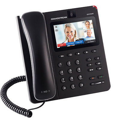 Grandstream GXV3240 Telephone Phone Color Video IP Touch Screen Wifi Android Web