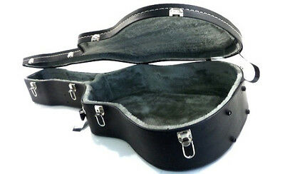 V-CASE - Dreadnought Western Arched Top Guitar Case, covered in vinyl. Hardcase