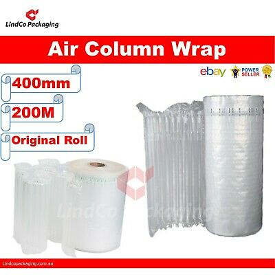 400mm x 200m (meter) Column Air Wrap best for wine packing | better shock absorb