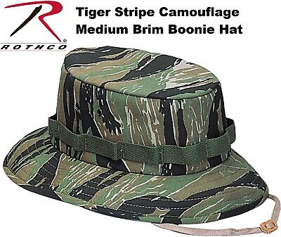 259123c46c1c2 Tiger Stripe Camo Military Style Boonie Hat Bucket Hat Jungle Hat Rothco  5539