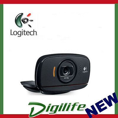 Logitech HD Webcam C525 HD 720p Video Mic 8 MP Photo Quality Autofocus