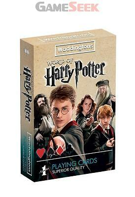 Waddingtons No 1 Harry Potter Playing Cards - Games/puzzles Card Games Brand New