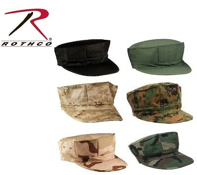 208481da MILITARY STYLE USMC Marines & NAVY 8 Point Patrol Fatigue Hat Cap ...