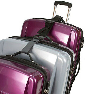 Travelon Multi-Bag Mover Black Pull Up to 3 Suitcases Easy to Manuever Travel
