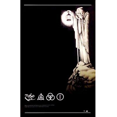 LED ZEPPELIN IV Zoso | Houses Of The Holy Ltd Ed Discontinued RARE Litho Poster!