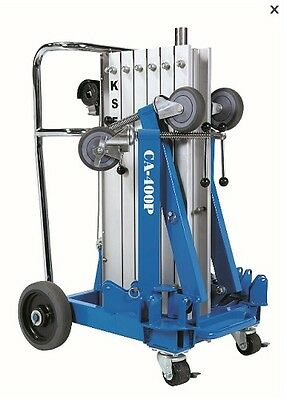 CA-400 Portable Lifter -Load capacity up to 150kg  lifting to heights of 4m
