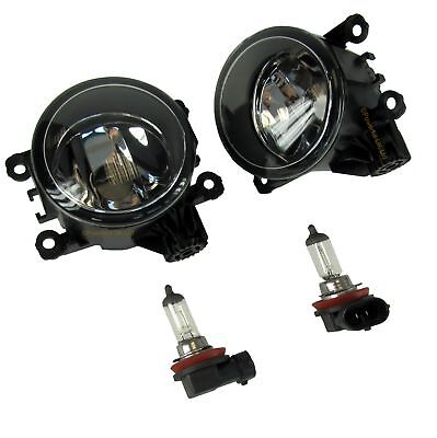 PAIR of Front Bumper Fog spot Lamps lights for Mitsubish L200 pickup truck 2006+