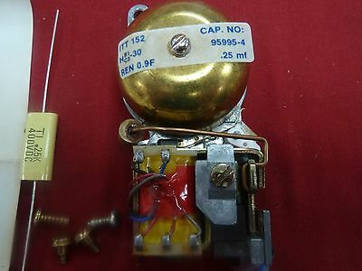 New Cortelco Single Bell Ringer for Western Electric Payphone Pay Phone GTE AT&T