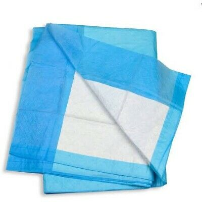 100 × DISPOSABLE UNDERPADS 4 PLY 60×42.5CM (2 Packets of 50)