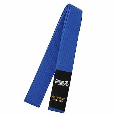 Lonsdale Martial Arts Belt - BLUE BNWT  JUNIOR SIZE