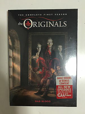The Originals: First Season 1 (DVD, 2014, 5-Disc Set) New with FREE SHIPPING!!!