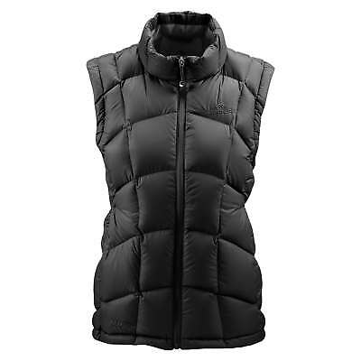 Kathmandu Womens Duck Down Wind & Water Resistant High Neck Warm Vest v4 Black