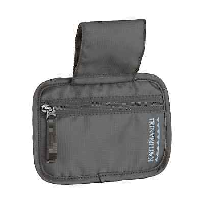 Kathmandu Travel Cards Money Zip Belt Pocket Pouch Case in Black