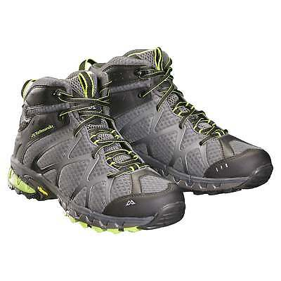 Kathmandu Arrowsmith NGX Mid Mens Vibram Rubber Water Resistant Boots Shoes Grey