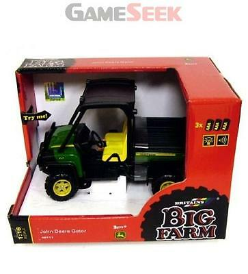 Britains 1:16 John Deere Gator - Action Figures Farm Brand New Free Delivery