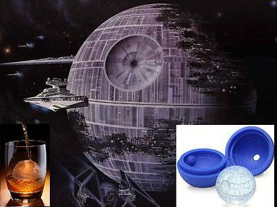 Star Wars Death Star Silicone Chocolate Ice Soap Cake Mould Tray Party Novelty