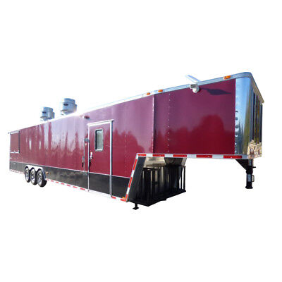 Concession Trailer Brandywine 8.5' x 43' BBQ Smoker Catering Event Trailer