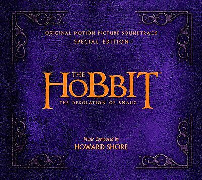 The Hobbit The Desolation Of Smaug Deluxe Edition Doppel Cd