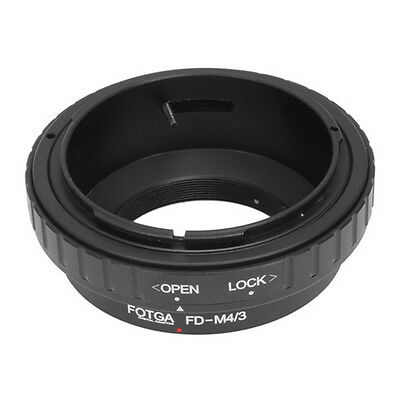 FOTGA Canon FD Lens to Micro 4/3 Adapter for GF3 GH3 EP2  EPL3 EPM2 G1 G3 G6