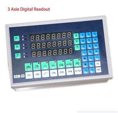 Brand New Spark Machine 3 Axis Digital Readout DRO for EDM High Cost Performance