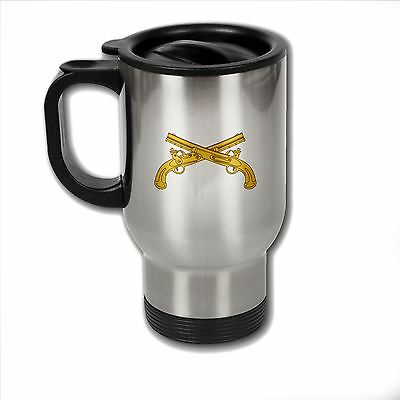 Stainless Steel Mug with U.S. Army Military Police Corps branch insignia