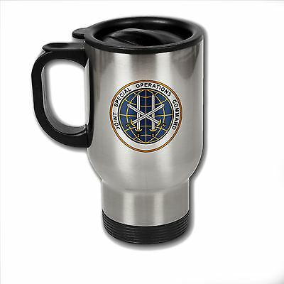 Stainless Steel Mug with U.S. Joint Special Operations Command (JSOC) emblem