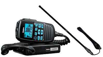 Uniden Uh8060S Nb Uhf Radio & Ch5T Black Uhf Rugged Antenna+4Wd Cars Vehicle