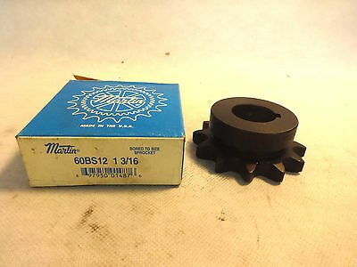 New In Box Martin 60Bs12 1-3/16 Sprocket