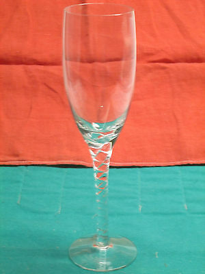 Orrefors Anne fine Swedish crystal 1-flute new in perfect condition