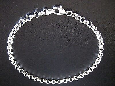 NEW Genuine Solid 925 Sterling Silver Round Belcher Anklet BEAUTIFUL TOP QUALITY