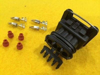 4 Pin plug set for sensors with Bosch style plug Female connector socket