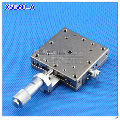 1pcs Used Good MISUMI XSG60-A High Precision Linear Stage Positioner #E-HD-A