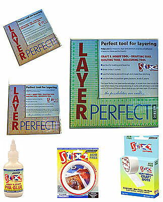 Stix2 Layer Perfect Tool Layering Quilting Drafting Measuring Metric & Imperial