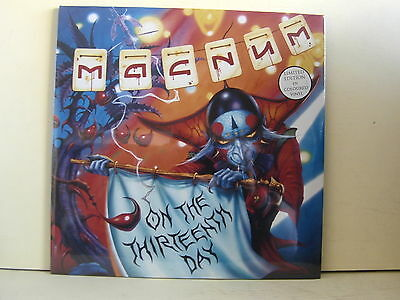 2 Lp-Magnum-On Thirteenth Day-Limited Edition In Coloured Vinyl-Sigillato-Catley