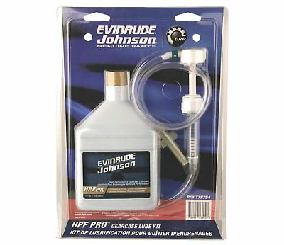 OMC Johnson Evinrude HPF Pro Gearcase Lube Kit for Outboards & Sterndrives OEM