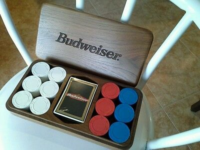 Budweiser  Poker Set