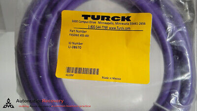 Turck Fksdwe 455-4M Cordset 5 Pole Female Straight 4 Meters Single End,  #176068