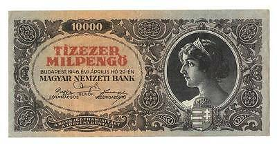1946 Hungary Hyper Inflation 10.000 milpengo  / 10.000.000.000.000 pengo VF