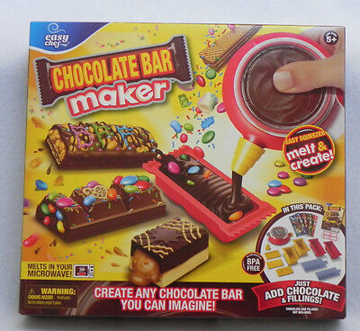 EASY CHEF CHOCOLATE CANDY BAR MAKER MOOSE TOYS HARD TO FIND HOLIDAY ITEM