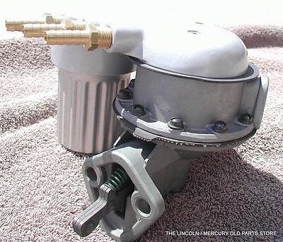 1958-1959-1960 LINCOLN TRI POWER AC Fuel Pump Cover Accessory FREE SHIP IN US!!!