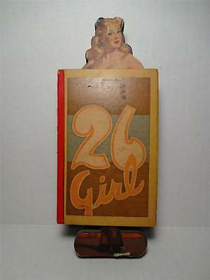 """RARE - 1940'S """"26 GIRL"""" PUNCH BOARD GAME - UNUSED/UNPUNCHED!"""