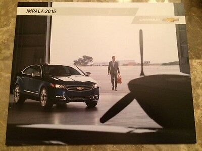 2015 Chevy Impala 32-page Original Sales Brochure