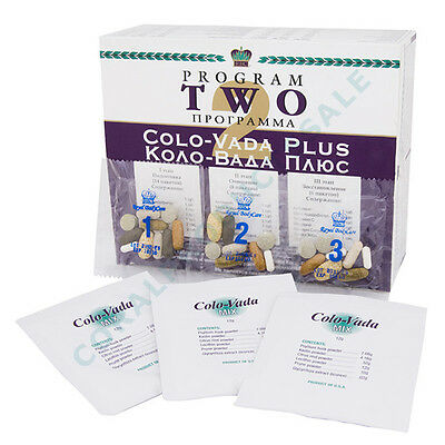 Program 2 Colo-Vada Plus (RBC) - highly effective body cleanse & detox system